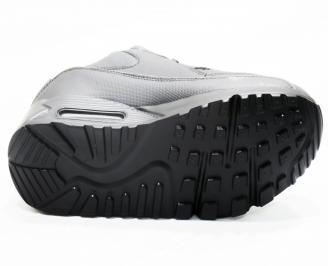 Мъжки  маратонки   еко кожа черни BIGX-25356