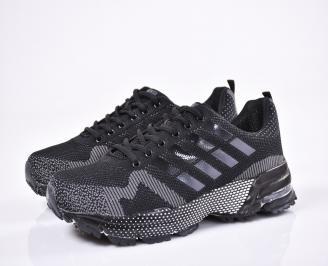Мъжки маратонки -Гигант текстил черни SGWE-1011155