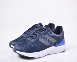Мъжки маратонки текстил сини DRSV-1011165