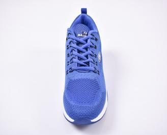 Мъжки маратонки текстил сини TQSC-1011187