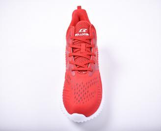 Мъжки маратонки текстил червени CQFZ-1011712