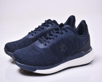 Мъжки маратонки текстил сини TQKR-1014010