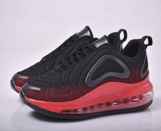 Мъжки маратонки текстил червени  IPQT-1015538