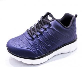 Мъжки маратонки  текстил сини MAVA-26664