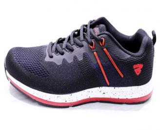 Мъжки маратонки  текстил черни 6