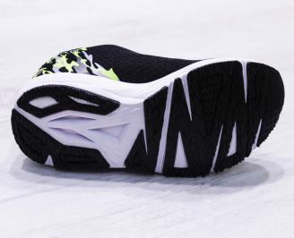 Мъжки маратонки  текстил черни TTIL-26686