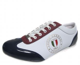 Мъжки обувки бели еко кожа JRVT-18914