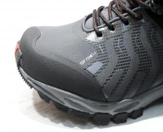 Мъжки обувки Bulldozer черни набук/текстил NPTL-25470