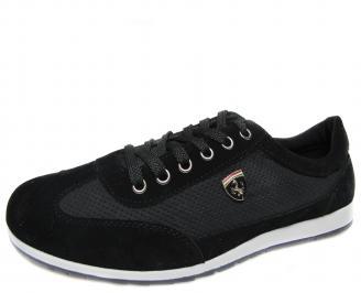 Мъжки обувки черни еко кожа MQSS-18918