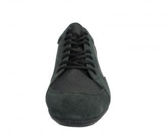 Мъжки обувки  естествен велур/текстил TIQT-10133