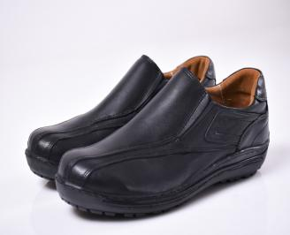 Мъжки  обувки естествена кожа черни NNFA-1012835