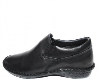 Мъжки обувки естествена кожа черни GCMG-20528