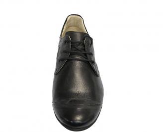 Мъжки обувки естествена кожа черни SFVL-10124