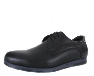 Мъжки обувки естествена кожа черни UTZO-17760