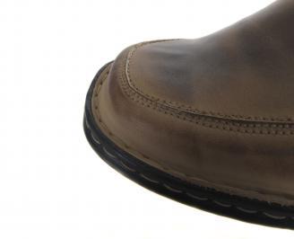 Мъжки обувки естествена кожа QXJG-18628