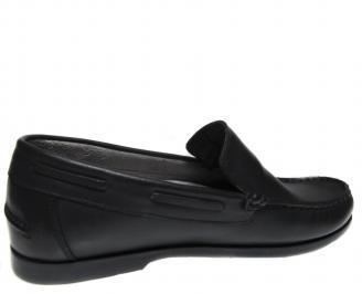 Мъжки обувки-Гигант черни естествена кожа ADMB-18766