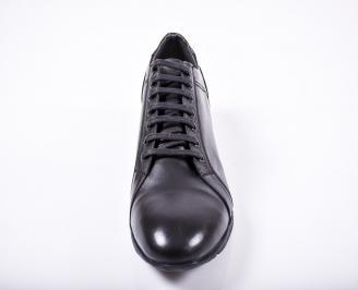 Мъжки обувки -Гигант естествена кожа черни NABN-1011579