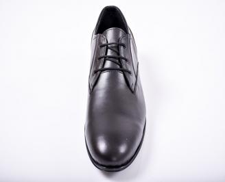 Мъжки обувки -Гигант естествена кожа черни XQCM-1011666