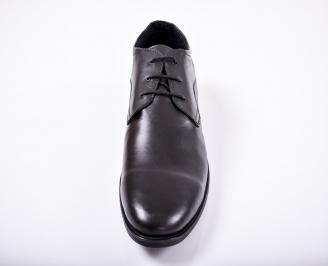 Мъжки обувки -Гигант естествена кожа черни CBPE-1011676