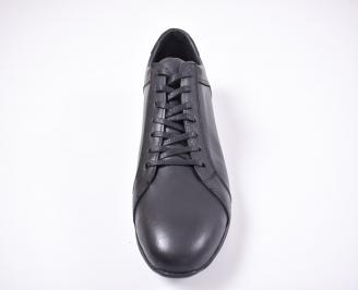 Мъжки обувки -Гигант естествена кожа черни GFFG-1012621