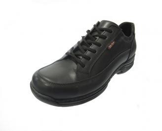 Мъжки обувки Гигант естествена кожа черни AAPW-11209