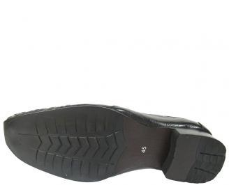 Мъжки обувки официални естествена кожа черни LMPS-11410