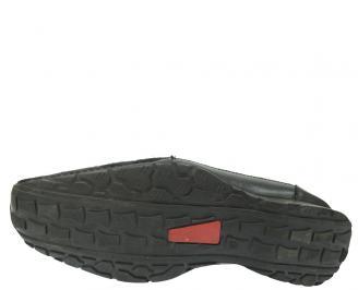 Мъжки обувки официални естествена кожа черни ZUWR-11414