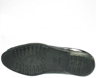 Мъжки обувки от естествена кожа /лак MMBK-10141