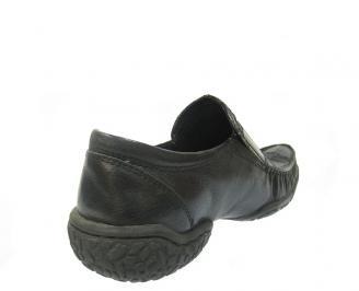 Мъжки обувки от естествена кожа черни CBLU-11412