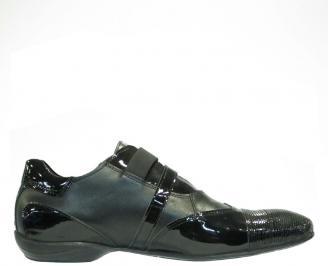 Мъжки обувки от естествена кожа /лак ILDQ-10143