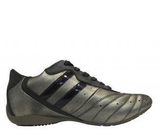 Мъжки обувки от естествена кожа бронзови YWWV-10021