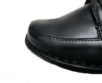 Мъжки обувки от естествена кожа TJJT-12763
