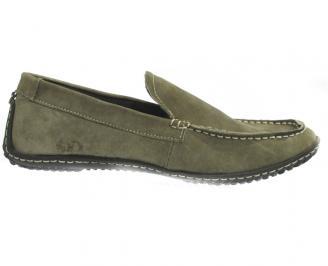 Мъжки обувки от естествен велур RRKX-10295