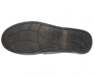 Мъжки обувки от естествена кожа Гигант черни EDYY-10302