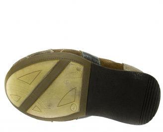 Мъжки обувки спортни естествена кожа кафяви MMSD-11330