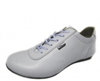 Мъжки  обувки спортни естествена кожа бели IWYI-16478
