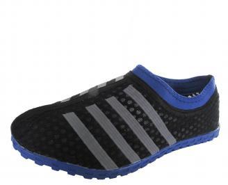 Мъжки обувки текстил/мрежа черни CRUD-19686
