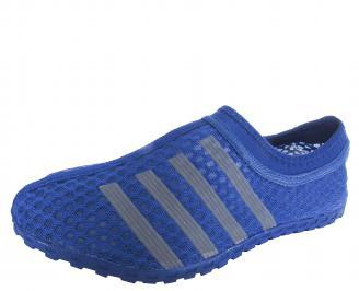 Мъжки обувки текстил/мрежа сини JAWP-19687
