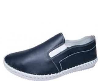 Мъжки обувки тъмно сини естествена кожа UJBG-21905