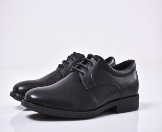 Мъжки официални обувки черни QCIZ-1014198