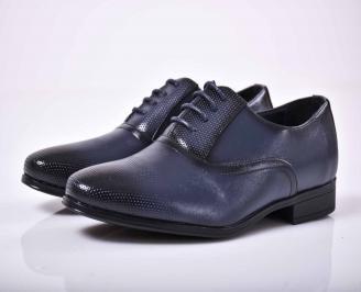 Мъжки официални обувки  сини  VCPC-1015862