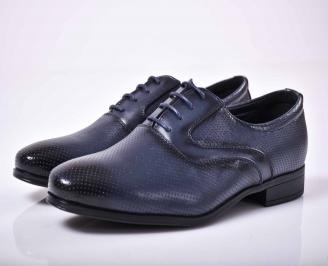 Мъжки официални обувки  сини  GNUE-1015863