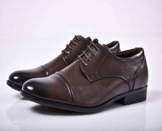 Мъжки официални обувки  кафеви  LFIN-1015866