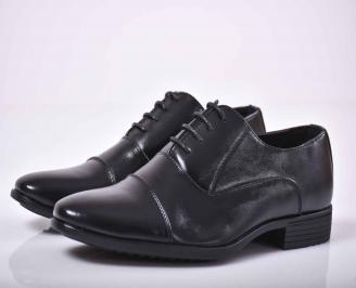 Мъжки официални обувки  черни  VMKP-1015868