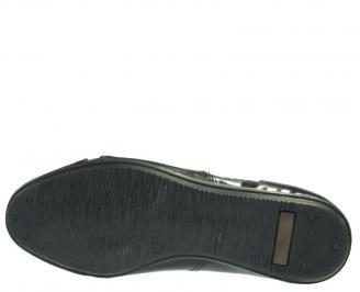 Мъжки официални обувки от естествена кожа/лак GKML-10140
