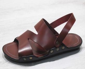 5253951ac12 Мъжки чехли естествена кожа черни IBVB-24680 - Чехли и сандали