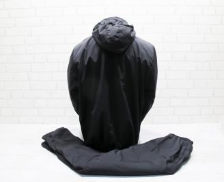 Мъжки спортен екип черен шушляк TGFB-25666