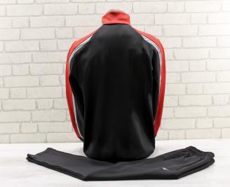 Мъжки спортен екип  черен PXRP-26767