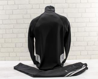 Мъжки спортен екип  черен AEXI-26778