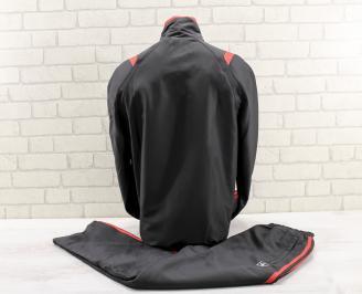 Мъжки спортен екип  черен GHGW-26784